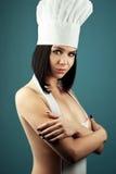 Cozinheiro chefe da menina Fotografia de Stock Royalty Free