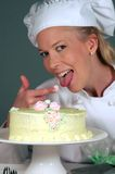 Cozinheiro chefe da padaria de Easter Fotografia de Stock Royalty Free