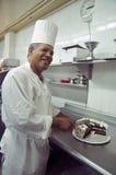 Cozinheiro chefe da pastelaria Imagens de Stock