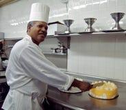 Cozinheiro chefe da pastelaria Imagem de Stock