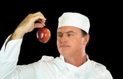 Cozinheiro chefe de Apple Imagens de Stock