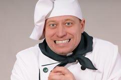 Cozinheiro chefe de Fanny Fotos de Stock Royalty Free