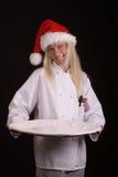 Cozinheiro chefe do feriado Fotografia de Stock