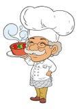 Cozinheiro chefe do ferro Fotos de Stock Royalty Free