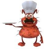 Cozinheiro chefe do germe Imagens de Stock
