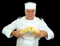 Cozinheiro chefe do homem forte Fotografia de Stock Royalty Free