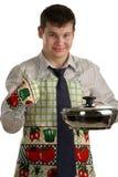 Cozinheiro chefe do negócio Fotografia de Stock Royalty Free
