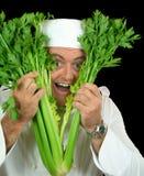 Cozinheiro chefe do Peekaboo fotografia de stock royalty free