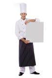 Cozinheiro chefe do restaurante Imagens de Stock Royalty Free
