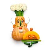 Cozinheiro chefe do vegetariano Foto de Stock Royalty Free
