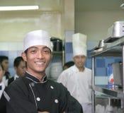 Cozinheiro chefe dois Fotografia de Stock