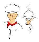 Cozinheiro chefe dos desenhos animados Imagem de Stock