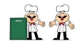 Cozinheiro chefe feliz Fotografia de Stock