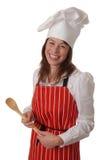 Cozinheiro chefe feliz Fotos de Stock Royalty Free