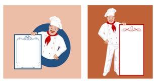 Cozinheiro chefe feliz Fotografia de Stock Royalty Free