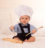 Cozinheiro chefe futuro fotografia de stock royalty free