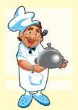 Cozinheiro chefe - imagem do vetor Fotografia de Stock