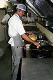 Cozinheiro chefe indiano imagem de stock