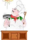 Cozinheiro chefe italiano! Foto de Stock Royalty Free