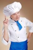 Cozinheiro chefe novo Fotos de Stock Royalty Free