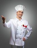 Cozinheiro chefe orgulhoso Imagens de Stock Royalty Free