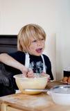Cozinheiro chefe pequeno Fotografia de Stock