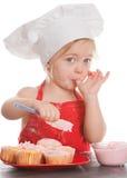Cozinheiro chefe pequeno fotos de stock