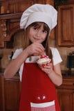 Cozinheiro chefe pequeno Fotos de Stock Royalty Free