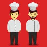 Cozinheiro chefe profissional novo Imagem de Stock Royalty Free