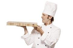 Serie do cozinheiro chefe imagem de stock