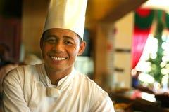 Cozinheiro chefe sênior Imagem de Stock