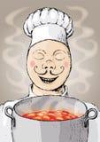 Cozinheiro chefe (vetor) Fotografia de Stock
