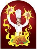 Cozinheiro da maravilha e galinha do fairy Fotos de Stock