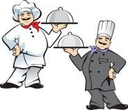 Cozinheiro da pizza Foto de Stock Royalty Free