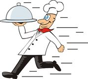 Cozinheiro de Runned Imagem de Stock