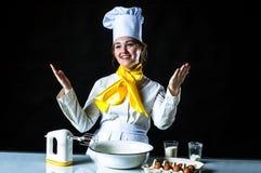 Cozinheiro de sorriso Foto de Stock