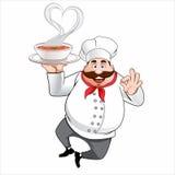 Cozinheiro do cozinheiro chefe Fotos de Stock Royalty Free