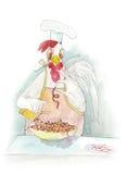 Cozinheiro do galo Fotos de Stock