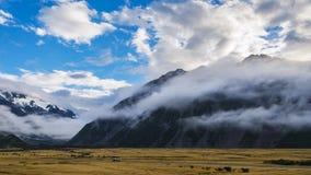 Cozinheiro do Mt, Nova Zelândia Foto de Stock