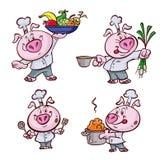 Cozinheiro do porco Foto de Stock Royalty Free