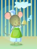 Cozinheiro do rato Fotografia de Stock Royalty Free