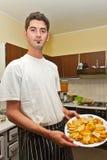 Cozinheiro dos jovens Imagem de Stock Royalty Free