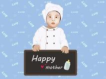 Cozinheiro fêmea Children Imagem de Stock