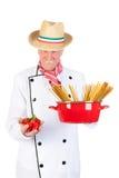 Cozinheiro italiano Imagem de Stock Royalty Free