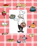 Cozinheiro italiano Fotografia de Stock Royalty Free