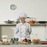 Cozinheiro profissional Fotografia de Stock Royalty Free