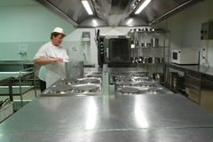 Cozinheiro profissional Imagem de Stock