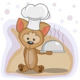 Cozinheiro Puppy Foto de Stock Royalty Free