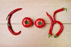 Cozinheiro vageteble Fotografia de Stock