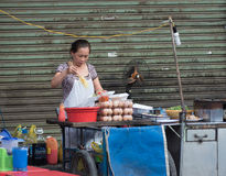 Cozinheiro vietnamiano da rua Imagens de Stock